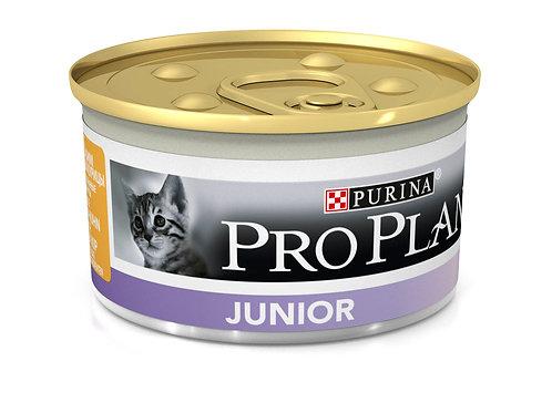 Влажный корм Pro Plan для котят в возрасте от 6 недель до 1 года с курицей Банка