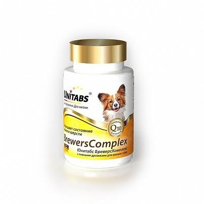 Юнитабс БреверсКомплекс 100 табл. для собак мелких с пивными дрожжами