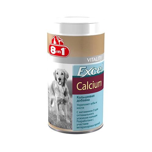 Витамины 8 в 1 Эксель для собак 155 таб., кальций+фосфор+вит D