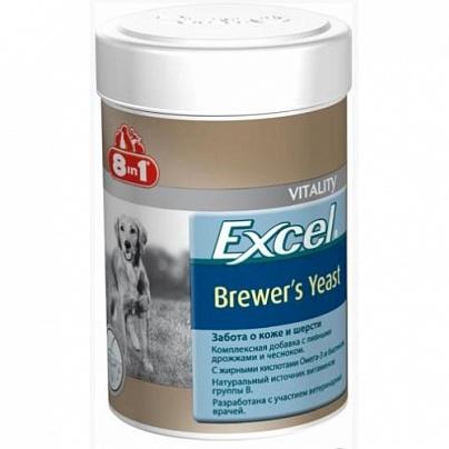 Витамин 8 в 1 для собак 140 таб., пив.дрожжи+чеснок