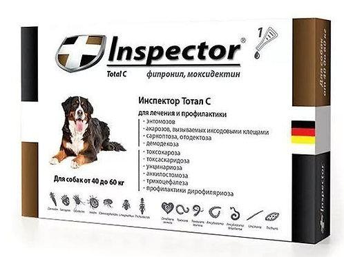 Капли Инспектор для собак 40-60 кг, 1 пипетка, Экопром