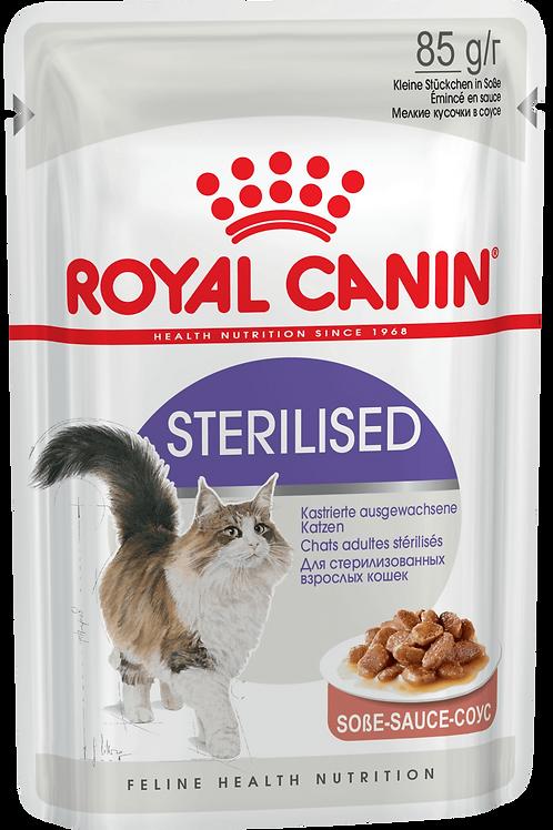 STERILISED (В СОУСЕ)* Влажный корм для стерилизованных кошек