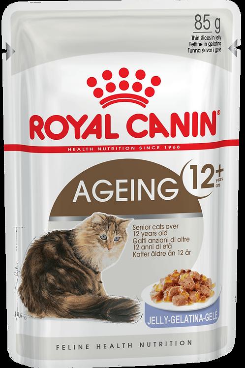 AGEING +12 (В ЖЕЛЕ)* Влажный корм для кошек старше 12 лет