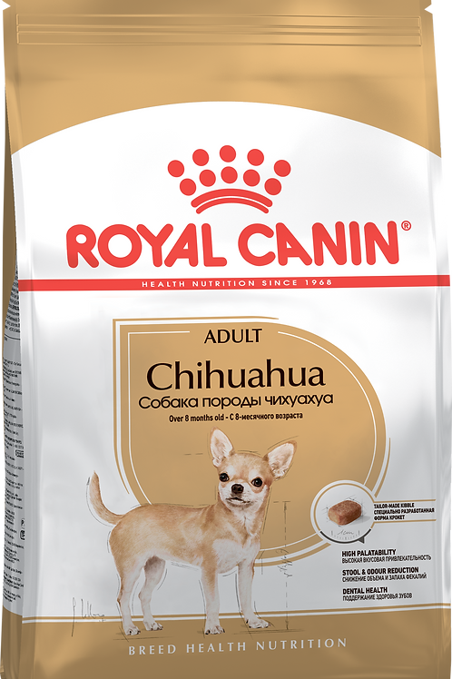 CHIHUAHUA ADULT* Корм для собак породы Чихуахуа старше 8 месяцев