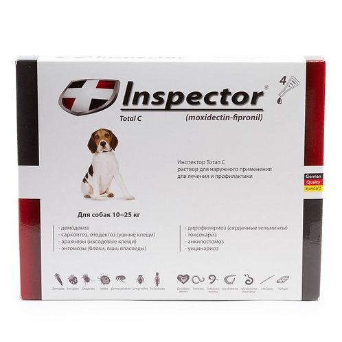 Капли Инспектор для собак 10-25 кг, 1 пипетка, Экопром
