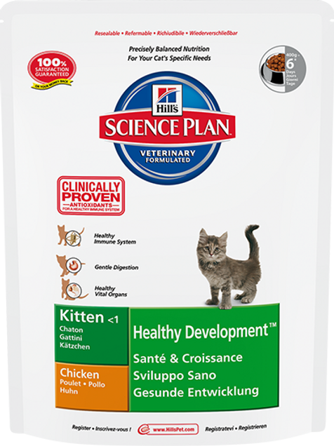 Корм сухой 400 гр Hill's Healthy Development для котят до 12 месяцев тунец
