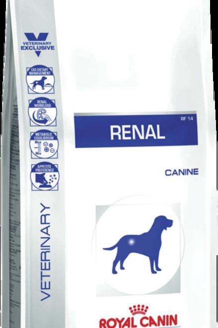 Сухой корм 2 кг Royal Canin Renal 14 для взрос. собак с почечной недостат-ю