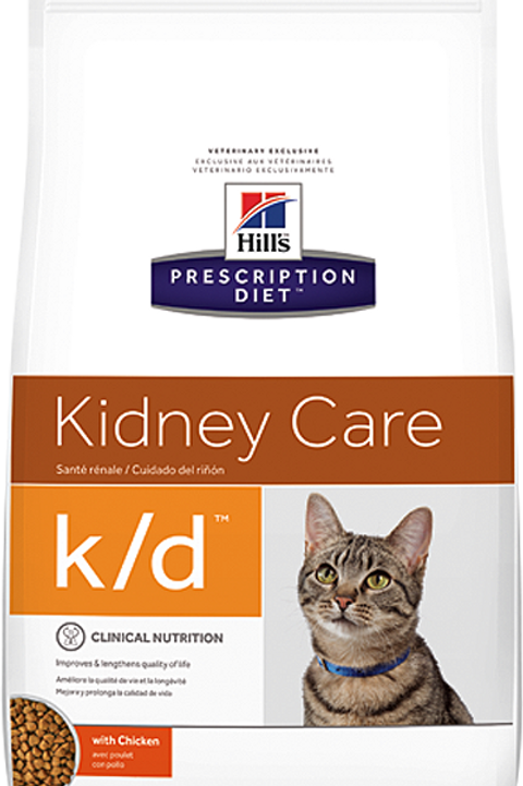 Корм сухой 400 гр Hill's Prescription Diet Feline k/d Kidney Care для кошек