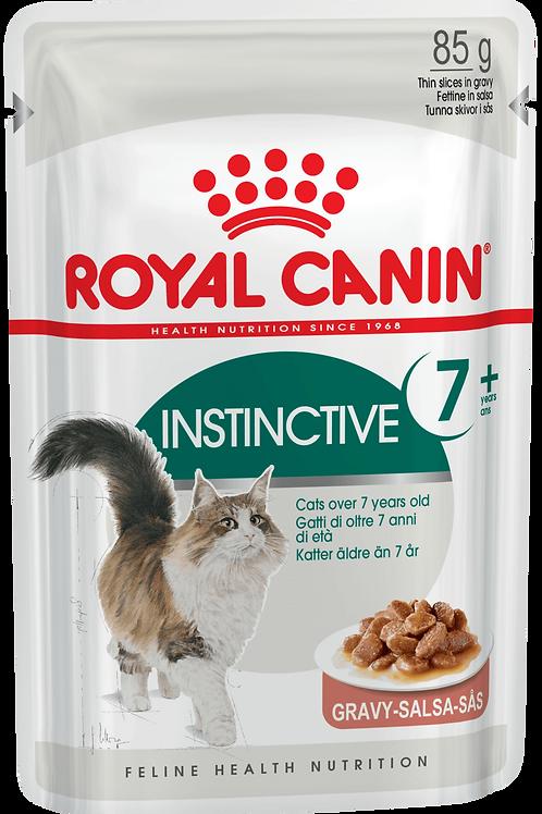 INSTINCTIVE +7 (В СОУСЕ)* Влажный корм для кошек старше 7 лет