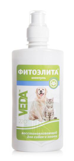 Шампунь фитоэлита восстанавливающий для собак и кошек