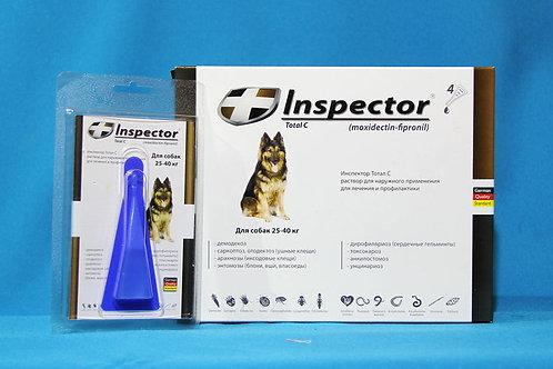 Капли Инспектор для собак 25-40 кг, 1 пипетка, Экопром