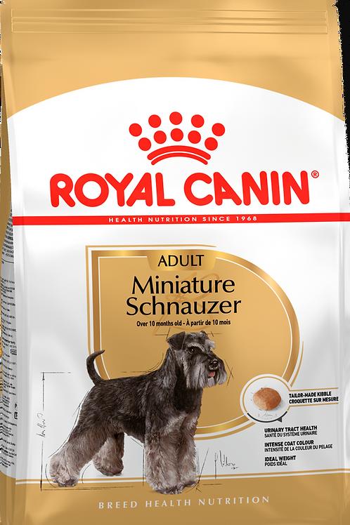 MINIATURE SCHNAUZER ADULT* Корм для собак породы Миниатюрный Шнауцер старше 10 м