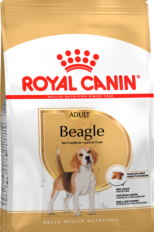 BEAGLE ADULT* Корм для собак породы бигль от 12 месяцев