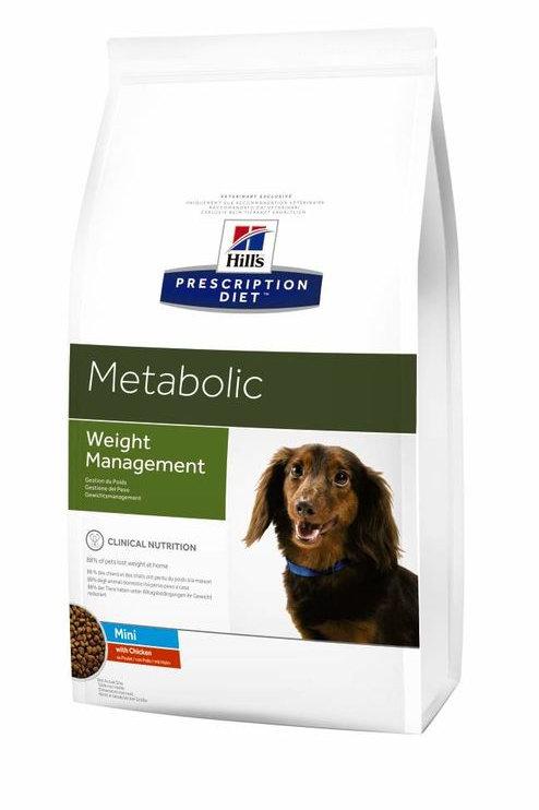 Корм сухой 1.5 кг HILL'S Diet Metabolic Mini для собак при ожирении