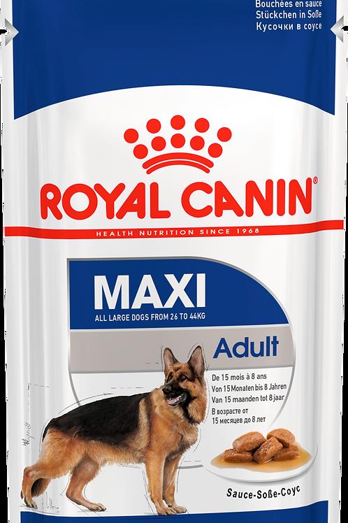 Влажный корм MAXI ADULT* Корм для собак от 15 месяцев до 8 лет