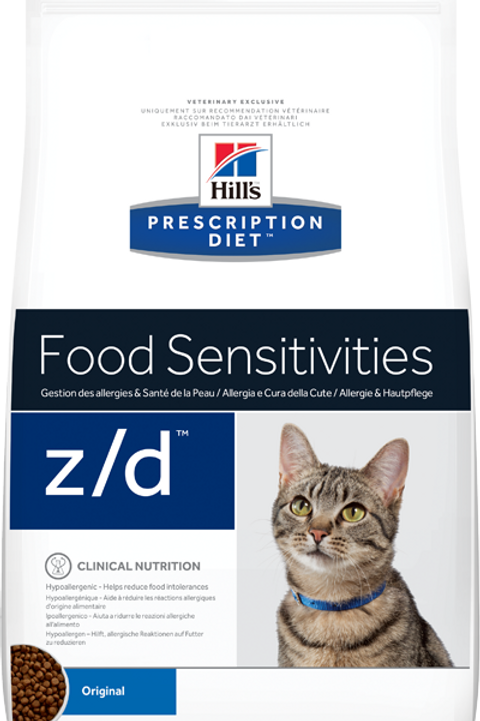 Корм сухой Hill's Prescription Diet Feline z/d для кошек при аллергиях