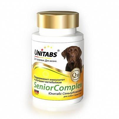 Юнитабс СеньорКомплекс с Q10 100 табл. для собак старше 7 лет ежедневные