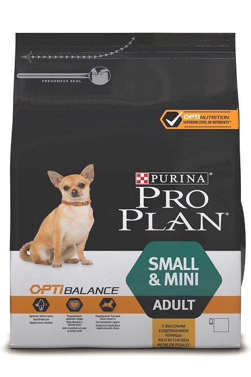 Сухой корм 700 гр Purina Pro Plan OPTIBALANCE для собак мелких/карликовых курица