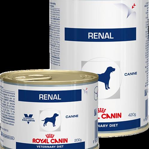 Влажный корм Royal Canin Renal 420 гр для взрослых собак с почечной недостат-ю