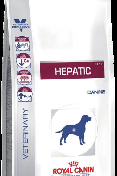 Сухой корм 12 кг Royal Canin Hepatic 16 Диета для собак при заболеваниях печени