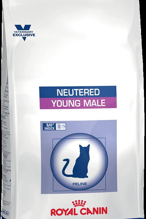 Сухой корм Royal Canin Young Male для кастрированных котов до