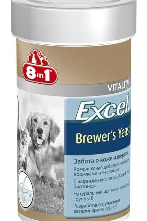 Витамины 8 в 1 Эксель для собак 140 таб., пивные дрожжи
