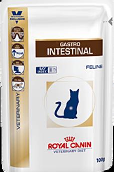 Влажный корм Royal Canin Gastro Intestinal для кошек при наруш-и пищеварения