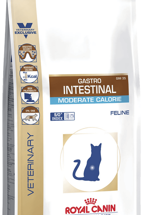 Сухой корм Royal Canin Gastro Intestinal Moderate Calorie35 для кошек