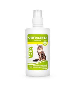 Шампунь фитоэлита распутывающий для длиношёрстных кошек