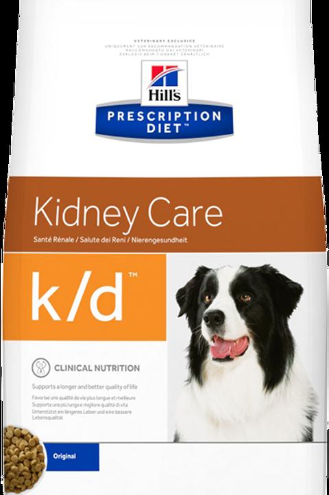 Корм сухой 2 кг HILL'S Prescription Diet Canine k/d Kidney Care для собак