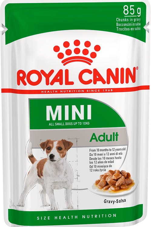 Влажный корм MINI ADULT* Корм для собак с 10 месяцев до 12 лет
