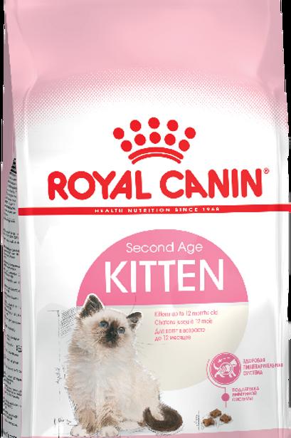 Сухой корм Royal Canin Kitten для котят в возрасте до 12 месяцев
