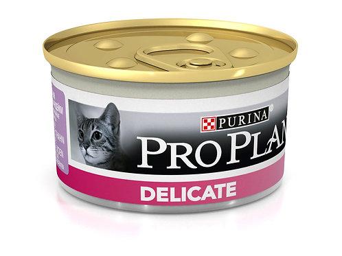 Влажный корм Pro Plan для кошек с чувствительным пищеварением и привередливых