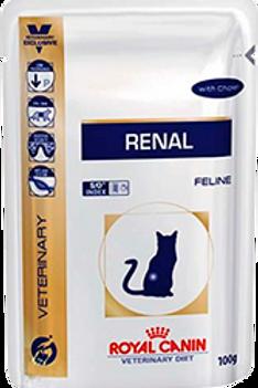 Влажный корм Royal Canin Renal c курицей (пауч) для кошек с почечной недостаточ.