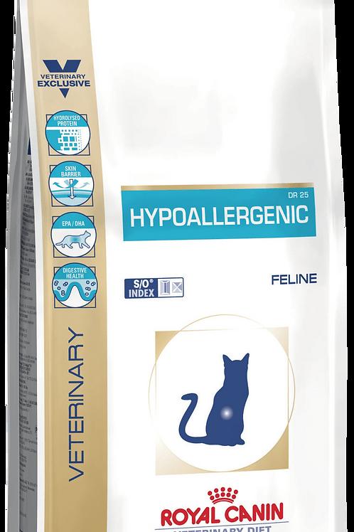 Сухой корм RC Hypoallergenic DR25 для кошек при пищевой аллергии