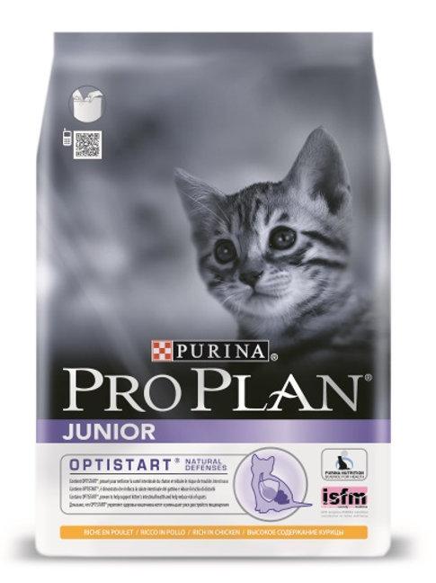 Сухой корм Purina Pro Plan Junior для котят с курицей