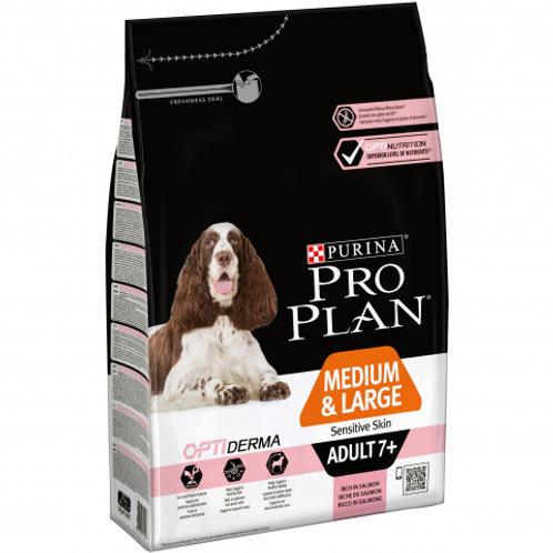 Сухой корм Pro Plan для взрослых собак старше 7 лет средних и крупных пород