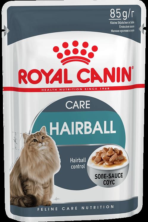 HAIRBALL CARE (В СОУСЕ)* Полнорационный корм для взрослых кошек (мелкие кусочки