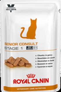 Влажный корм Royal Canin Senior Consult Stage 1 WET для котов, кошек