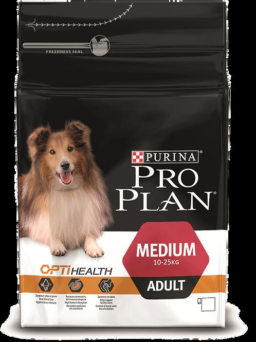 Сухой корм Pro Plan OPTIBALANCE для собак средних пород с курицей