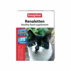 Витамин Беафар для кошек 75 таб., 1 уп. Реналеттен (проблемы почек)