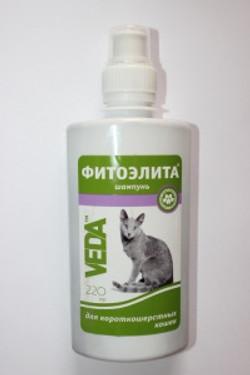 Шампунь фитоэлита для короткошерст. кошек 220 мл