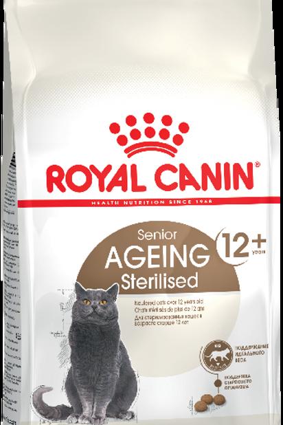 AGEING STERILISED 12+* Корм для стерилизованных кошек старше 12 лет