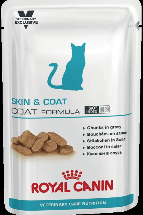 Влажный корм Royal Canin Skin & Coat Formula для стерилизованных кощек