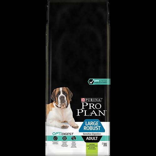 Сухой корм Pro Plan для взрослых собак крупных пород с мощным телосложением