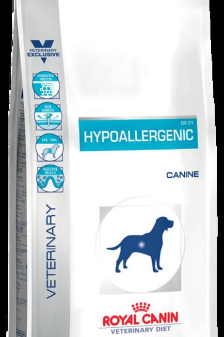 Сухой корм 2 кг Royal Canin Hypoallergenic DR21 для собак с пищевой аллергией