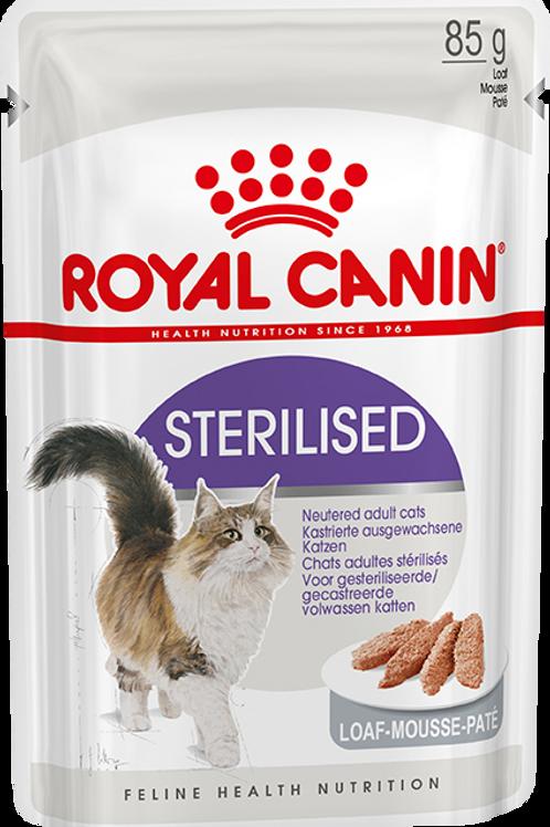 Влажный корм Royal Canin Sterilised (в паштете) Для стерилизованных кошек