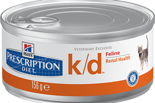 Корм консервированный Hill's Prescription Diet Feline k/d Kidney Care