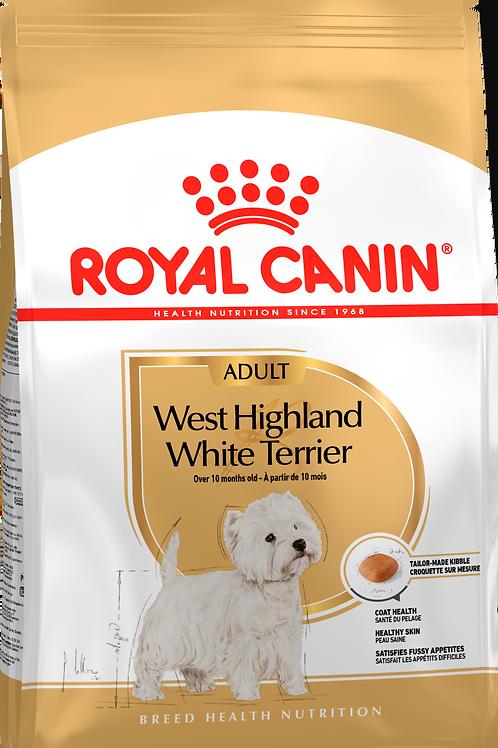WEST HIGHLAND WHITE TERRIER ADULT* Корм для собак породы Вест-хайленд-уайт-терье