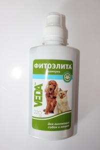 Шампунь фитоэлита для линяющих собак и кошек 220